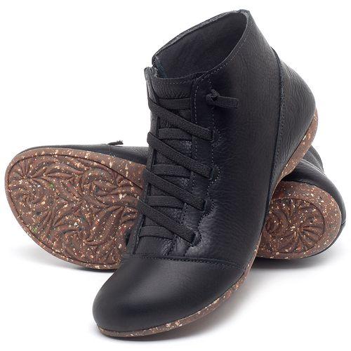 Laranja_Lima_Shoes_Sapatos_Femininos_Flat_Boot_em_Couro_Preto_-_Codigo_-_148023_2