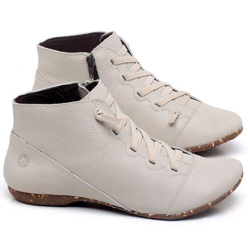 Laranja_Lima_Shoes_Sapatos_Femininos_Flat_Boot_em_Couro_Off-White_-_Codigo_-_148023_1