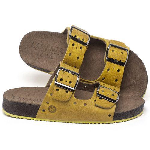 Laranja_Lima_Shoes_Sapatos_Femininos_Sandalia_Rasteira_Flat_em_Couro_Amarelo_-_Codigo_-_148032_1