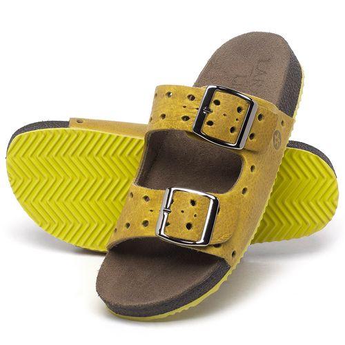 Laranja_Lima_Shoes_Sapatos_Femininos_Sandalia_Rasteira_Flat_em_Couro_Amarelo_-_Codigo_-_148032_2