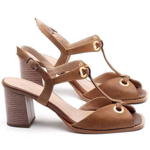 Laranja_Lima_Shoes_Sapatos_Femininos_Sandalia_Laranja_Lima_Shoes_Classic_Salto_de_6_cm_em_Couro_Caramelo_-_Codigo_-_3660_1