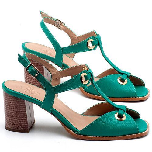 Laranja_Lima_Shoes_Sapatos_Femininos_Sandalia_Laranja_Lima_Shoes_Classic_Salto_de_6_cm_em_Couro_Verde_-_Codigo_-_3660_1