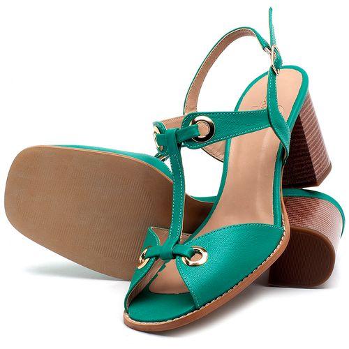 Laranja_Lima_Shoes_Sapatos_Femininos_Sandalia_Laranja_Lima_Shoes_Classic_Salto_de_6_cm_em_Couro_Verde_-_Codigo_-_3660_2