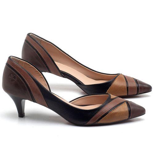 Laranja_Lima_Shoes_Sapatos_Femininos_Scarpin_Salto_Medio_de_6_cm_em_Couro_Multicolor_-_Codigo_-_3663_1