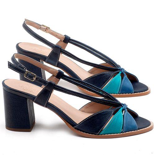 Laranja_Lima_Shoes_Sapatos_Femininos_Sandalia_Laranja_Lima_Shoes_Classic_Salto_de_6_cm_em_Couro_Multicolor_-_Codigo_-_3665_1