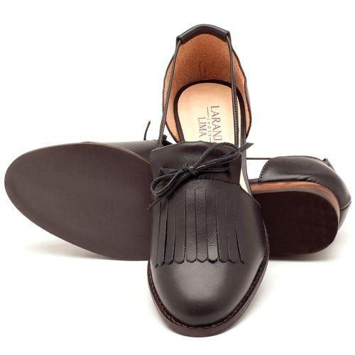 Laranja_Lima_Shoes_Sapatos_Femininos_Oxford_Laranja_Lima_Shoes_Salto_de_2_cm_em_Couro_Preto_-_Codigo_-_9433_2
