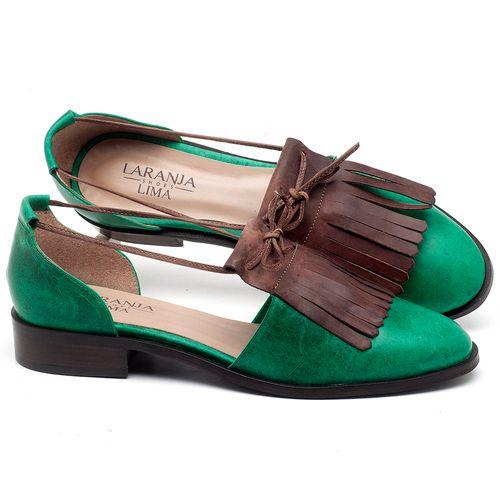 Laranja_Lima_Shoes_Sapatos_Femininos_Oxford_Laranja_Lima_Shoes_Salto_de_2_cm_em_Couro_Bicolor_-_Codigo_-_9433_1