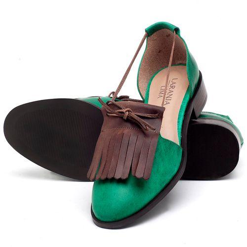 Laranja_Lima_Shoes_Sapatos_Femininos_Oxford_Laranja_Lima_Shoes_Salto_de_2_cm_em_Couro_Bicolor_-_Codigo_-_9433_2