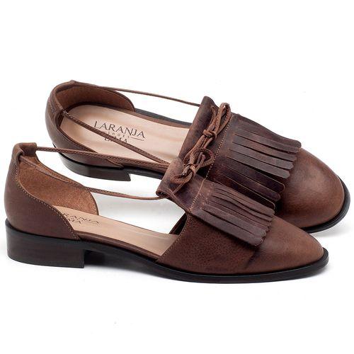 Laranja_Lima_Shoes_Sapatos_Femininos_Oxford_Laranja_Lima_Shoes_Salto_de_2_cm_em_Couro_Marrom_-_Codigo_-_9433_1