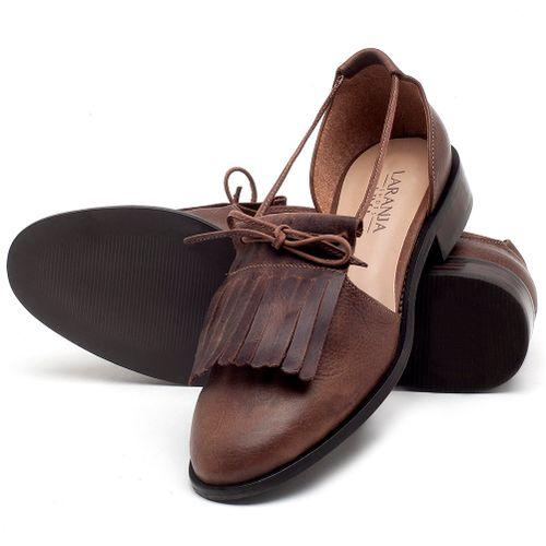 Laranja_Lima_Shoes_Sapatos_Femininos_Oxford_Laranja_Lima_Shoes_Salto_de_2_cm_em_Couro_Marrom_-_Codigo_-_9433_2