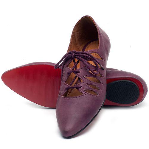 Laranja_Lima_Shoes_Sapatos_Femininos_Sapatilha_Bico_Fino_em_Couro_Roxo_-_Codigo_-_56031_2