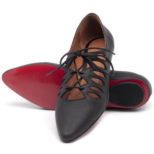 Laranja_Lima_Shoes_Sapatos_Femininos_Sapatilha_Bico_Fino_em_Couro_Preto_-_Codigo_-_56031_2