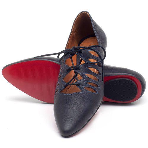 Laranja_Lima_Shoes_Sapatos_Femininos_Sapatilha_Bico_Fino_em_Couro_Azul_-_Codigo_-_56031_2