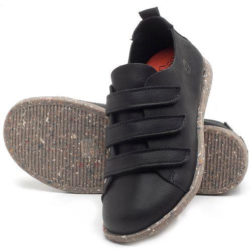 Laranja_Lima_Shoes_Sapatos_Femininos_Tenis_Cano_Baixo_em_Couro_Preto_-_Codigo_-_137225_2
