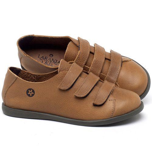 Laranja_Lima_Shoes_Sapatos_Femininos_Tenis_Cano_Baixo_em_Couro_Caramelo_-_Codigo_-_137225_1