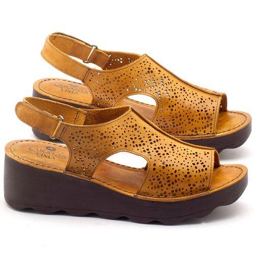 Laranja_Lima_Shoes_Sapatos_Femininos_Ana_Bela_Tratorada_Salto_de_Frente_2_cm_e_Atras_5_cm_em_Couro_Amarelo_-_Codigo_-_141049_1
