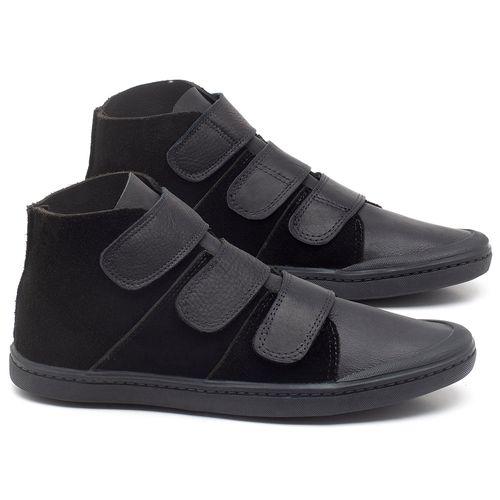 Laranja_Lima_Shoes_Sapatos_Femininos_Tenis_Cano_Alto_em_Couro_Preto_-_Codigo_-_141090_1