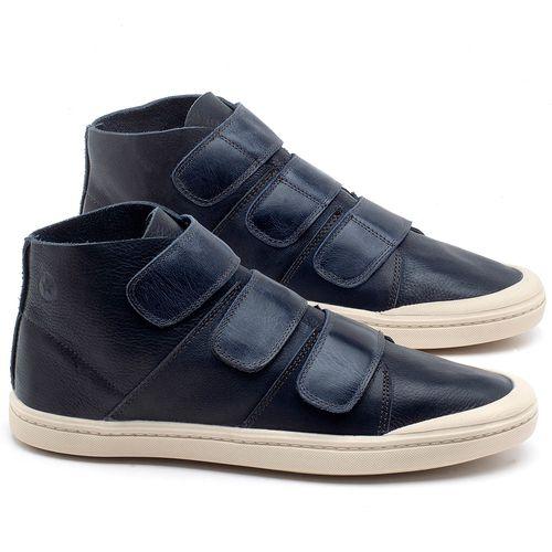 Laranja_Lima_Shoes_Sapatos_Femininos_Tenis_Cano_Alto_em_Couro_Marinho_-_Codigo_-_141090_1