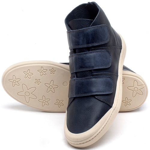 Laranja_Lima_Shoes_Sapatos_Femininos_Tenis_Cano_Alto_em_Couro_Marinho_-_Codigo_-_141090_2