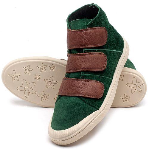 Laranja_Lima_Shoes_Sapatos_Femininos_Tenis_Cano_Alto_em_Couro_Verde_-_Codigo_-_141090_2