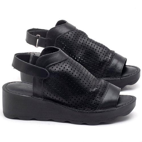 Laranja_Lima_Shoes_Sapatos_Femininos_Ana_Bela_Tratorada_Salto_de_Frente_2_cm_e_Atras_5_cm_em_Couro_Preto_-_Codigo_-_141091_1