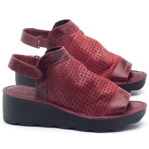 Laranja_Lima_Shoes_Sapatos_Femininos_Ana_Bela_Tratorada_Salto_de_Frente_2_cm_e_Atras_5_cm_em_Couro_Vermelho_-_Codigo_-_141091_1