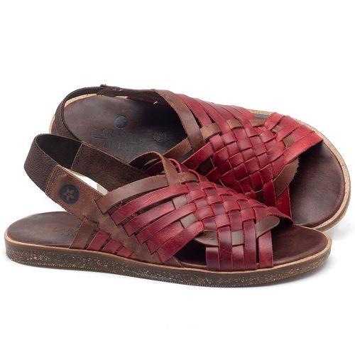 Laranja_Lima_Shoes_Sapatos_Femininos_Sandalia_Rasteira_Flat_em_Couro_Vermelho_-_Codigo_-_141092_1