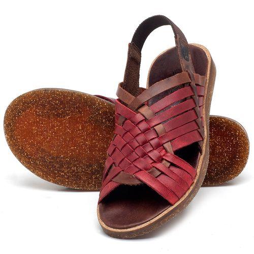 Laranja_Lima_Shoes_Sapatos_Femininos_Sandalia_Rasteira_Flat_em_Couro_Vermelho_-_Codigo_-_141092_2