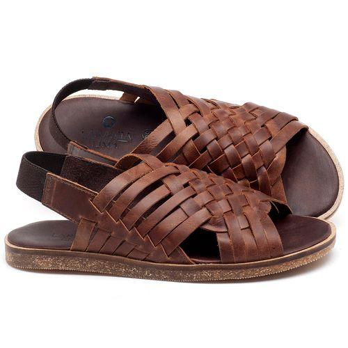 Laranja_Lima_Shoes_Sapatos_Femininos_Sandalia_Rasteira_Flat_em_Couro_Marrom_-_Codigo_-_141092_1
