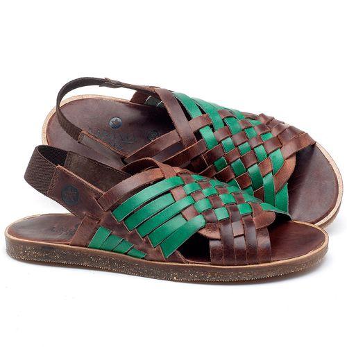 Laranja_Lima_Shoes_Sapatos_Femininos_Sandalia_Rasteira_Flat_em_Couro_Verde_-_Codigo_-_141092_1