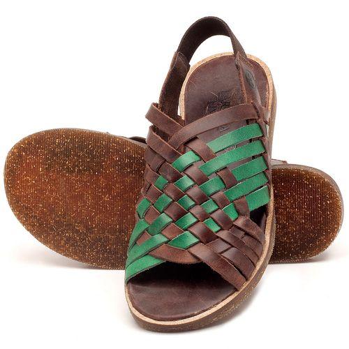 Laranja_Lima_Shoes_Sapatos_Femininos_Sandalia_Rasteira_Flat_em_Couro_Verde_-_Codigo_-_141092_2