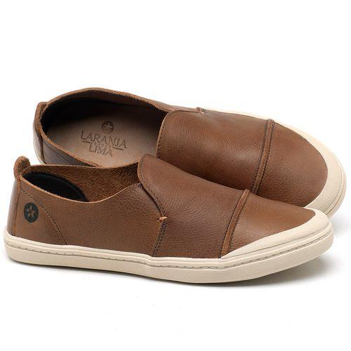 Laranja_Lima_Shoes_Sapatos_Femininos_Tenis_Cano_Baixo_em_Couro_Caramelo_-_Codigo_-_141113_1
