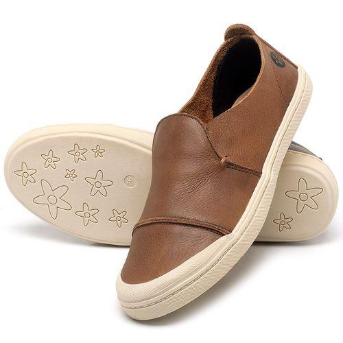 Laranja_Lima_Shoes_Sapatos_Femininos_Tenis_Cano_Baixo_em_Couro_Caramelo_-_Codigo_-_141113_2