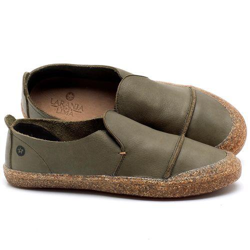 Laranja_Lima_Shoes_Sapatos_Femininos_Tenis_Cano_Baixo_em_Couro_Musgo_-_Codigo_-_141113_1