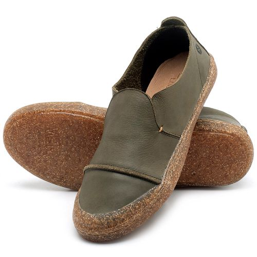 Laranja_Lima_Shoes_Sapatos_Femininos_Tenis_Cano_Baixo_em_Couro_Musgo_-_Codigo_-_141113_2