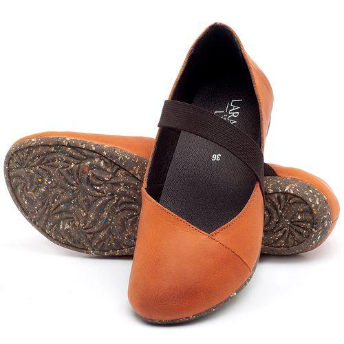 Laranja_Lima_Shoes_Sapatos_Femininos_Sapatilha_Bico_Redondo_em_Couro_Laranja_-_Codigo_-_148012_2