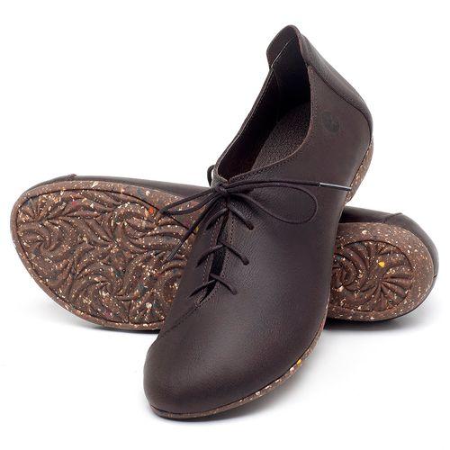 Laranja_Lima_Shoes_Sapatos_Femininos_Sapatilha_Bico_Redondo_em_Couro_Cafe_-_Codigo_-_148019_2