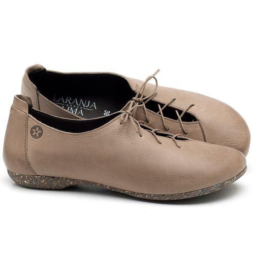 Laranja_Lima_Shoes_Sapatos_Femininos_Sapatilha_Bico_Redondo_em_Couro_Fendi_-_Codigo_-_148019_1