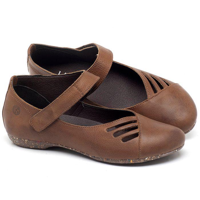 Laranja_Lima_Shoes_Sapatos_Femininos_Sapatilha_Bico_Redondo_em_Couro_Caramelo_-_Codigo_-_148020_1