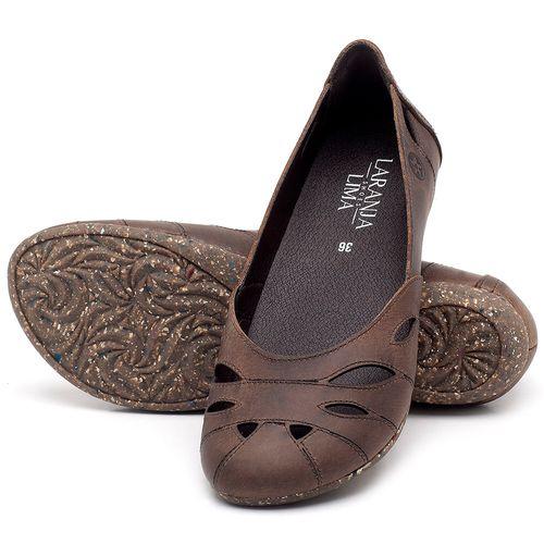 Laranja_Lima_Shoes_Sapatos_Femininos_Sapatilha_Bico_Redondo_em_Couro_Marrom_-_Codigo_-_148021_2