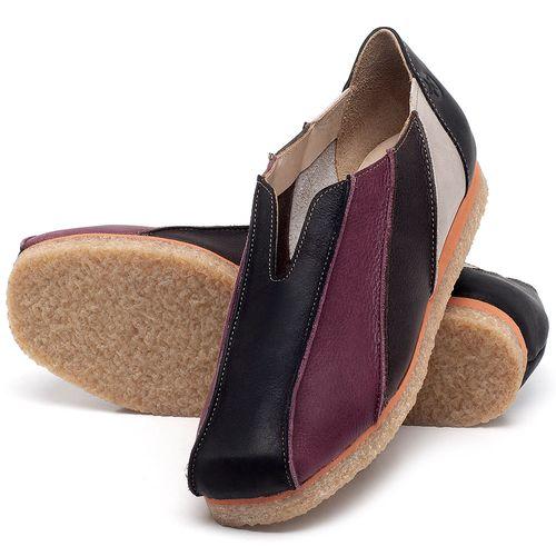 Laranja_Lima_Shoes_Sapatos_Femininos_Sapatilha_Bico_Redondo_em_Couro_Multicolor_-_Codigo_-_3055_2