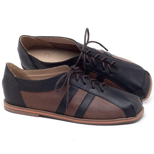 Laranja_Lima_Shoes_Sapatos_Femininos_Sapatilha_Bico_Redondo_em_Couro_Marrom_-_Codigo_-_3058_1