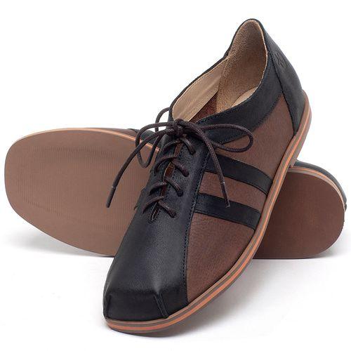 Laranja_Lima_Shoes_Sapatos_Femininos_Sapatilha_Bico_Redondo_em_Couro_Marrom_-_Codigo_-_3058_2