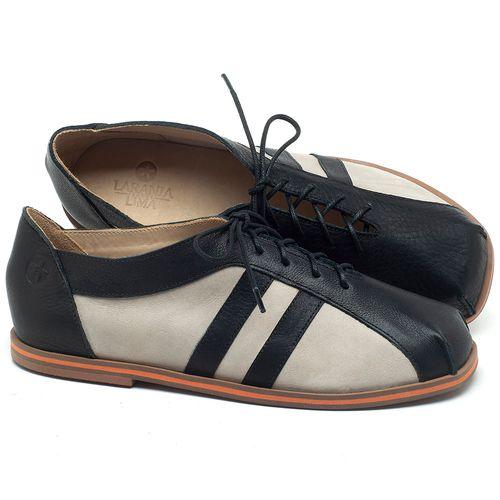 Laranja_Lima_Shoes_Sapatos_Femininos_Sapatilha_Bico_Redondo_em_Couro_P_-_B_-_Codigo_-_3058_1