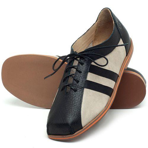 Laranja_Lima_Shoes_Sapatos_Femininos_Sapatilha_Bico_Redondo_em_Couro_P_-_B_-_Codigo_-_3058_2