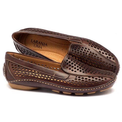 Laranja_Lima_Shoes_Sapatos_Femininos_Dockside_Laranja_Lima_Shoes_em_Couro_Cafe_-_Codigo_-_136010_1