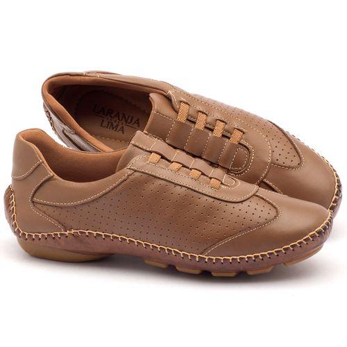 Laranja_Lima_Shoes_Sapatos_Femininos_Tenis_Cano_Baixo_em_Couro_Bege_-_Codigo_-_136029_1