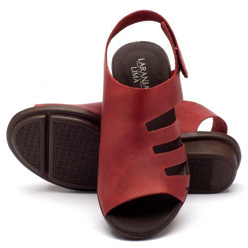 Laranja_Lima_Shoes_Sapatos_Femininos_Sandalia_Rasteira_Flat_em_Couro_Vermelho_-_Codigo_-_136040_2