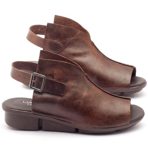 Laranja_Lima_Shoes_Sapatos_Femininos_Sandalia_Rasteira_Flat_Salto_de_3_cm_em_Couro_Cafe_-_Codigo_-_136042_1