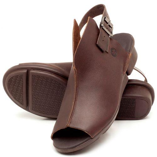 Laranja_Lima_Shoes_Sapatos_Femininos_Sandalia_Rasteira_Flat_Salto_de_3_cm_em_Couro_Cafe_-_Codigo_-_136042_2